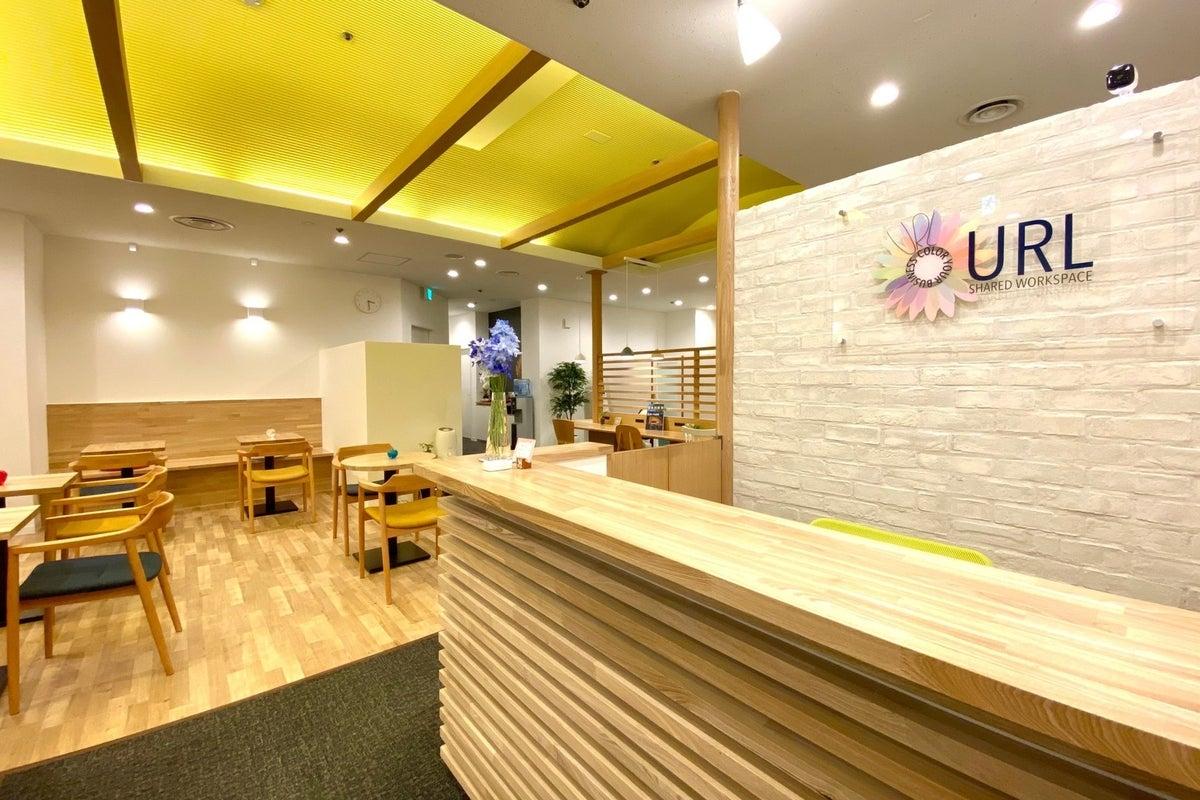 NEW OPEN《仙台駅徒歩3分》ブルーのアクセントカラーがおしゃれな完全個室!会議や面接などにも最適! の写真