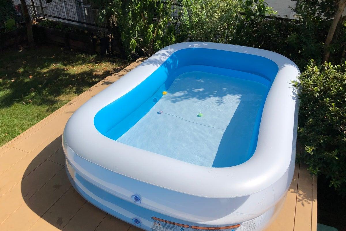プライベート プールで遊ぼう‼️都会避暑地南向き高台の広いリビング付きのガーデンで❗️ の写真