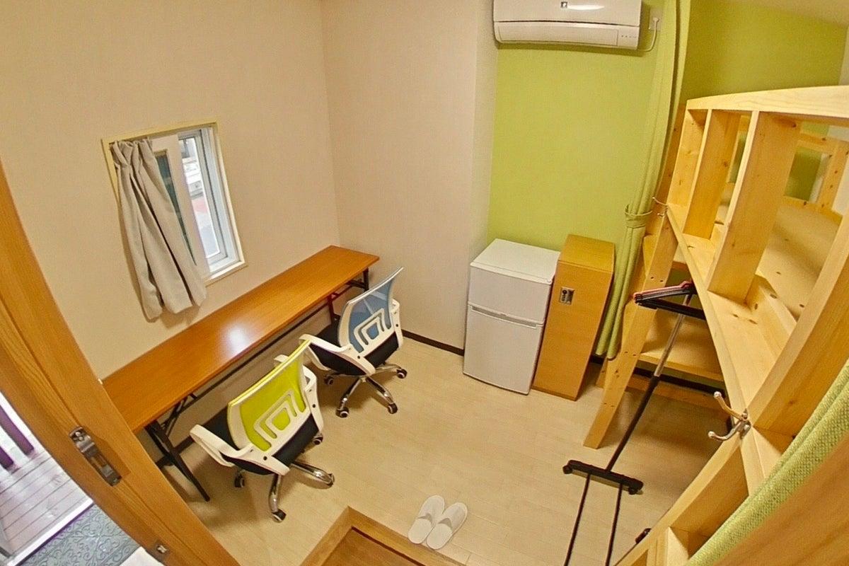 新宿早稲田駅「GH早稲田102号完全個室」。在宅勤務応援。コロナウイルス対策。 の写真