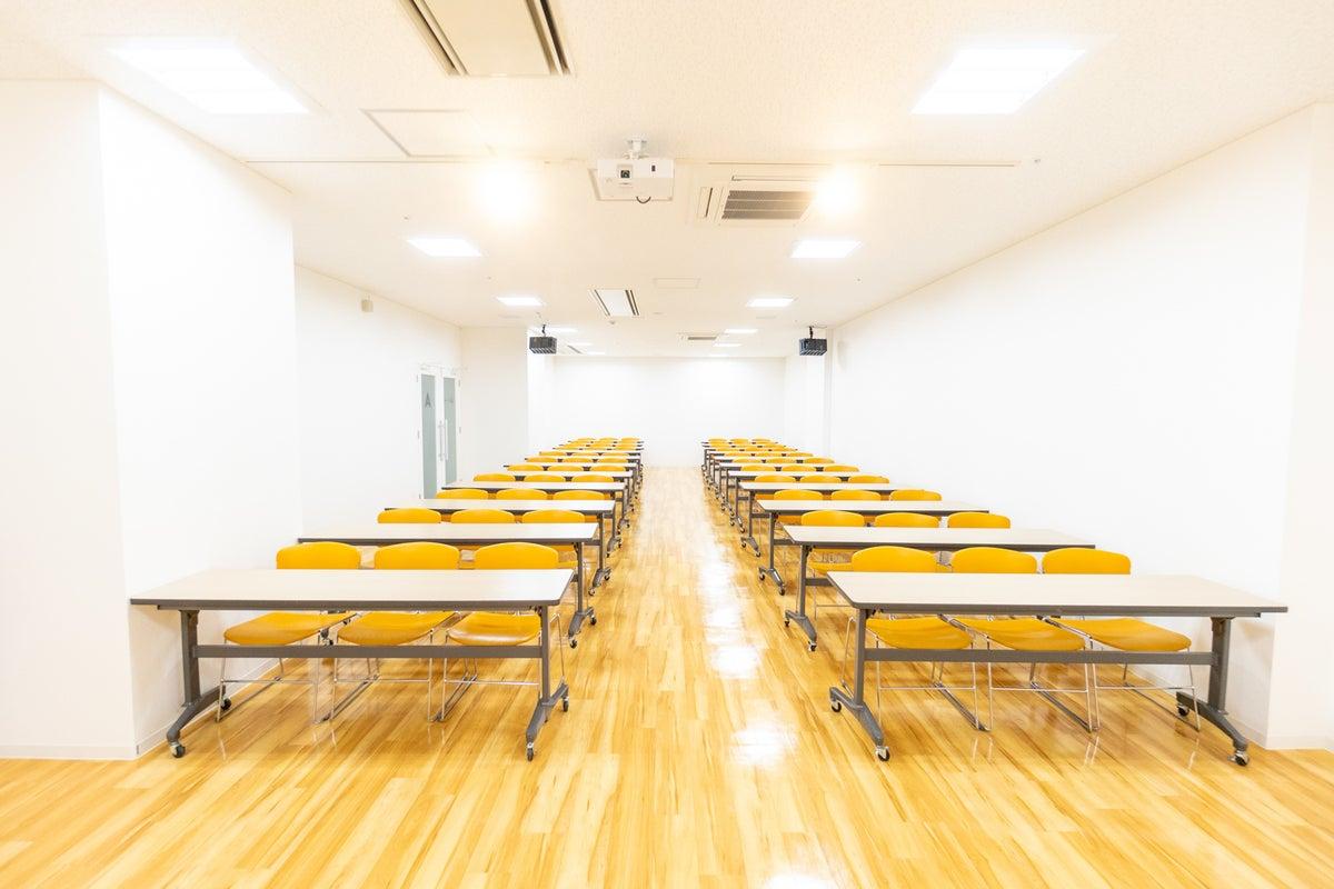 【定員66名】京阪枚方市駅直結!打ち合わせ、会議、試験会場、研修に最適! の写真