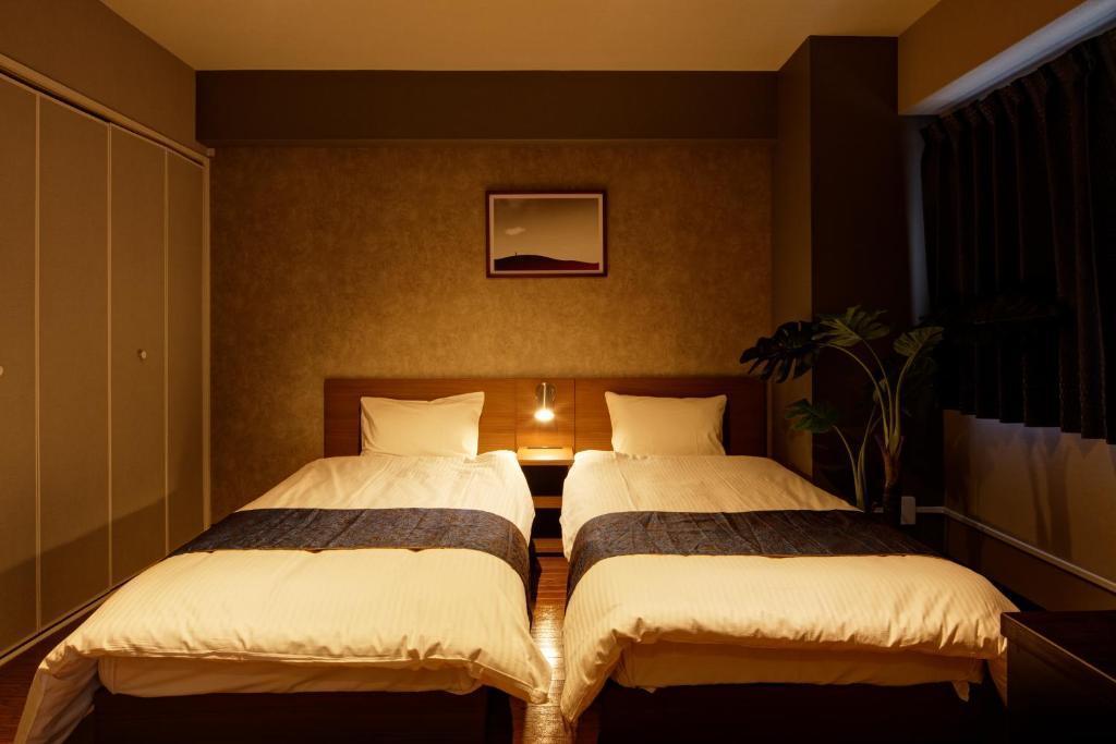 【e-stay namba(C)】★2LDK完全個室★広々空間でゆったり★家具家電あり★駅徒歩3分の好立地♪ の写真