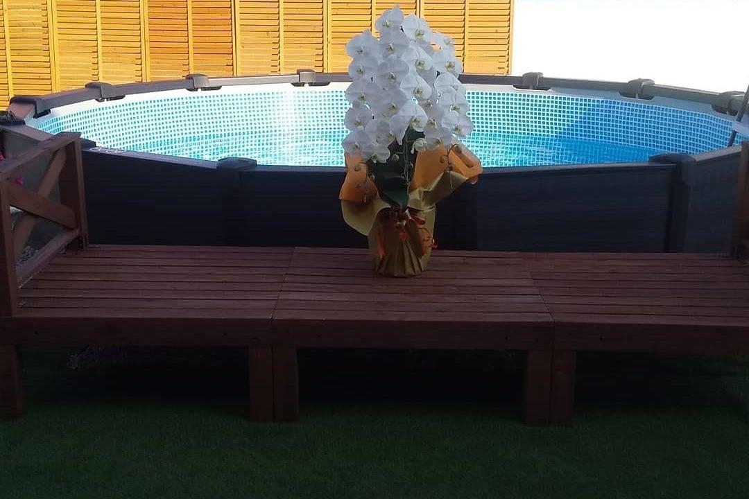 貸切Pool side BBQ Party の写真