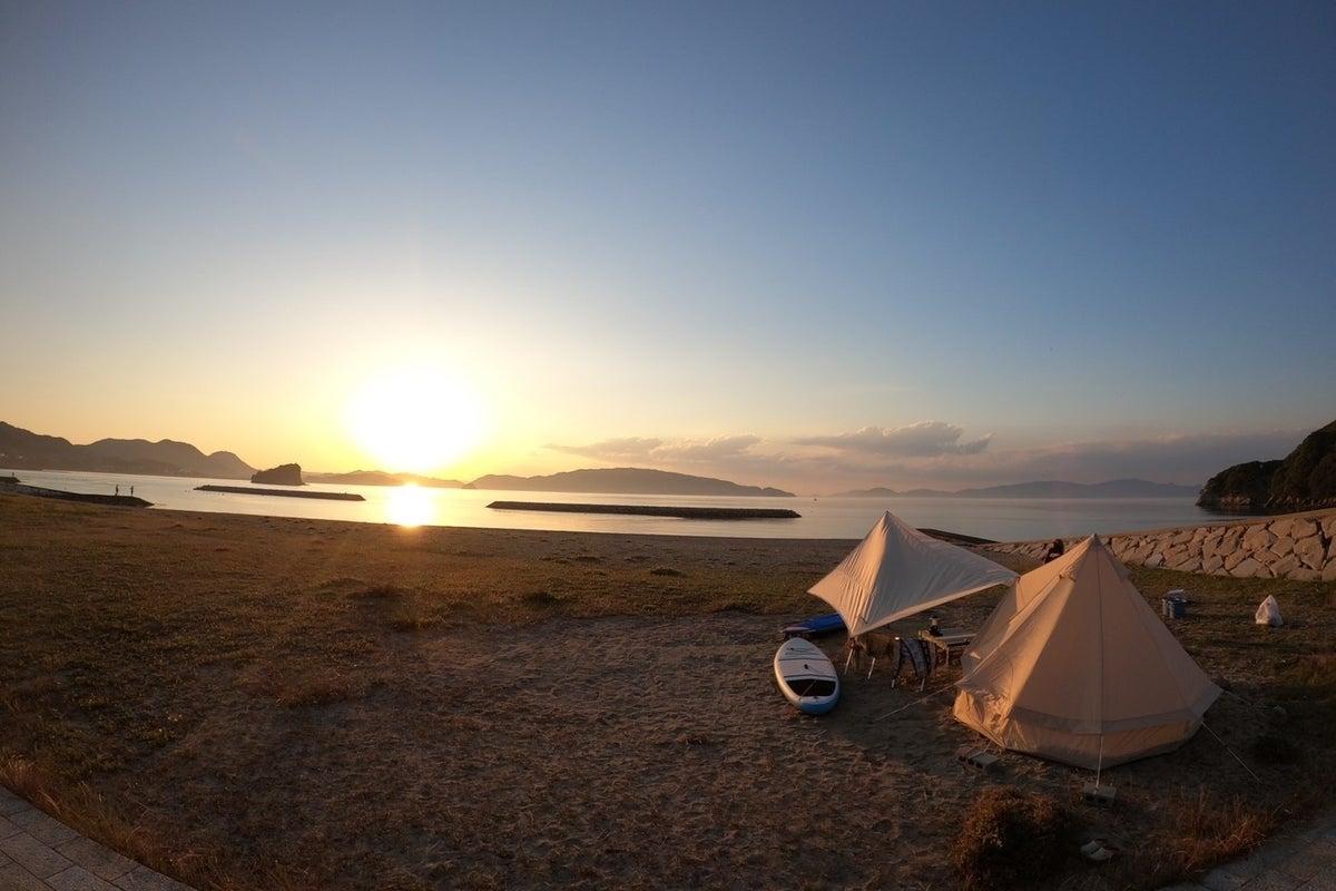 海まで歩いて10秒!!おしゃれなテントと屋外シャワー付き!ビーチハウスヤマダ の写真