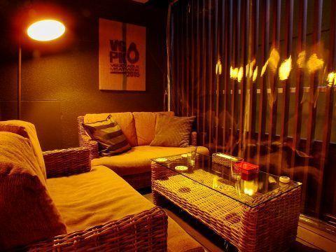 【鹿児島】インテリアにもこだわった居心地のいい空間でパーティー・イベント利用にいかがですか?(テラス席貸切) の写真