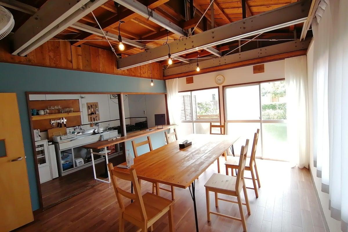 【アブラサカスペース】キッチン付きの戸建てスペース。女子会や誕生日会、映画鑑賞、ライブ鑑賞に! の写真