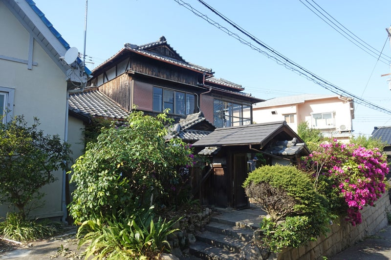 駅近、昭和3年築の古民家。庭園も利用可 の写真