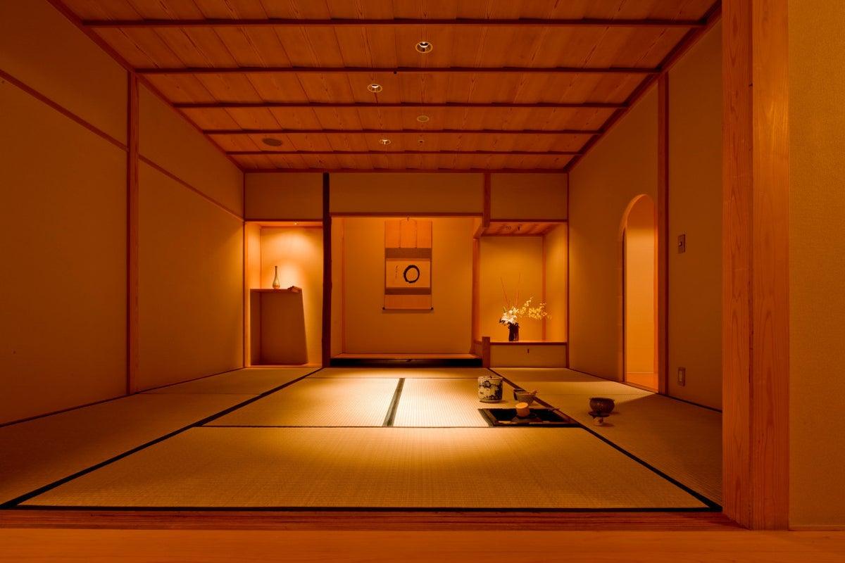 熊本駅徒歩1分!数寄屋造りのシンプルな茶室です。お茶会、お稽古、撮影など多目的に使えます。 の写真