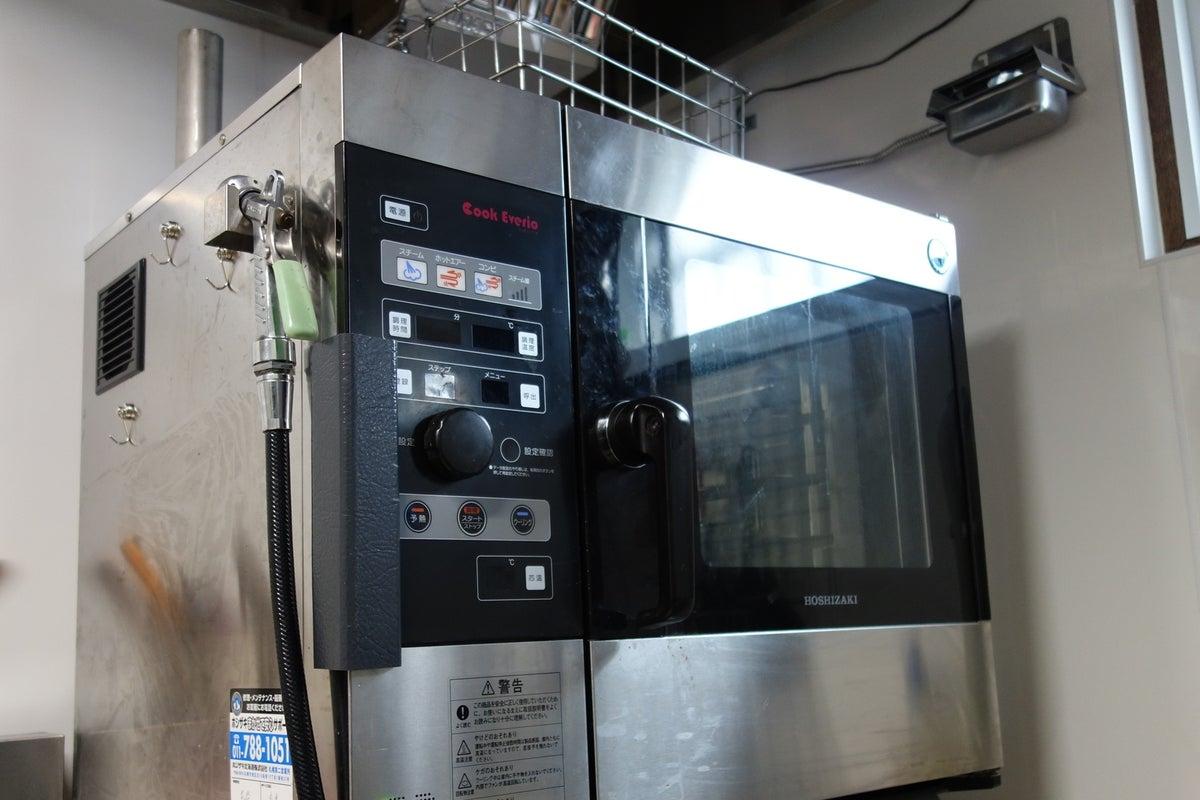 【札幌ドーム近隣!業務用スチームコンベクションオーブン設置】商品撮影、料理教室、お菓子やパンつくり、など多用されています♪ の写真