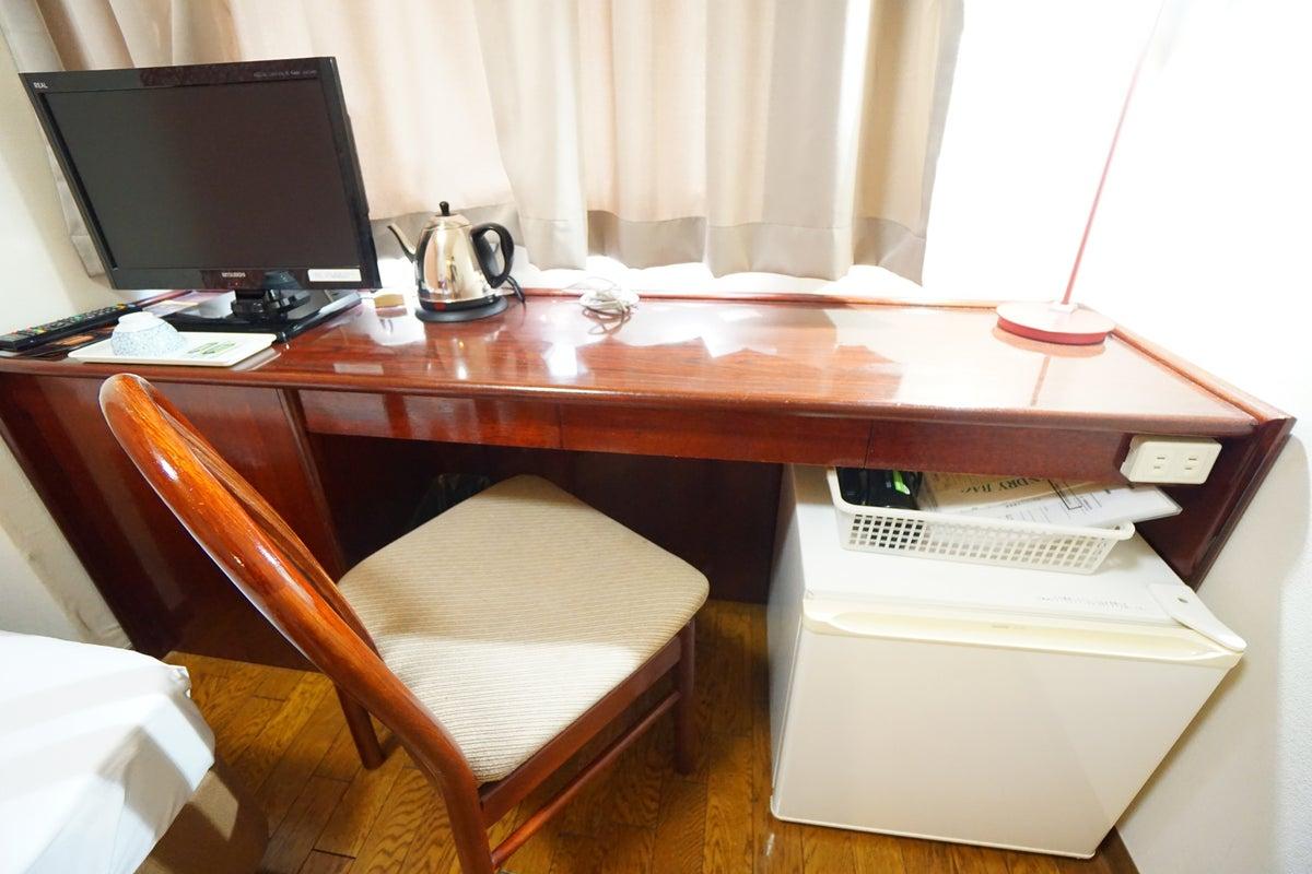 <ミニマルワークスペース福山No.3>福山ターミナルホテルの1室♪Wi-Fi無料/テレワーク/Web会議 の写真
