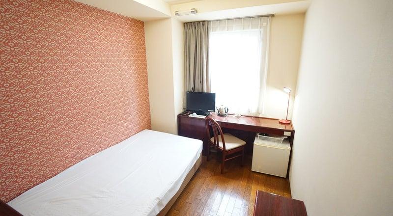 <ミニマルワークスペース福山No.4>福山ターミナルホテルの1室♪Wi-Fi無料/テレワーク/Web会議