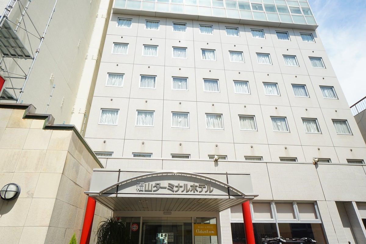 <ミニマルワークスペース福山No.4>福山ターミナルホテルの1室♪Wi-Fi無料/テレワーク/Web会議 の写真