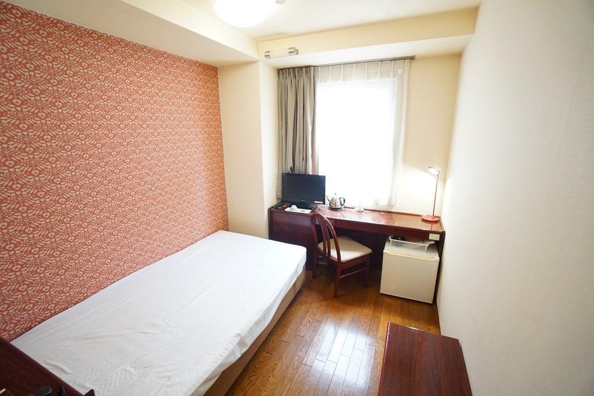 <ミニマルワークスペース福山No.6>福山ターミナルホテルの1室♪Wi-Fi無料/テレワーク/Web会議 の写真