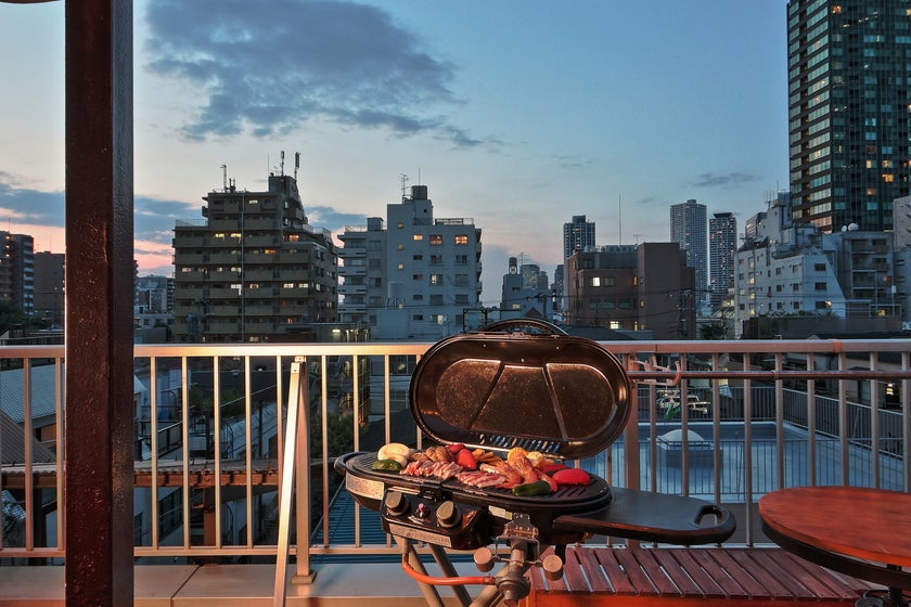 【Opening Sale】西新宿/テラスでBBQ/タコパ/光WiFi の写真