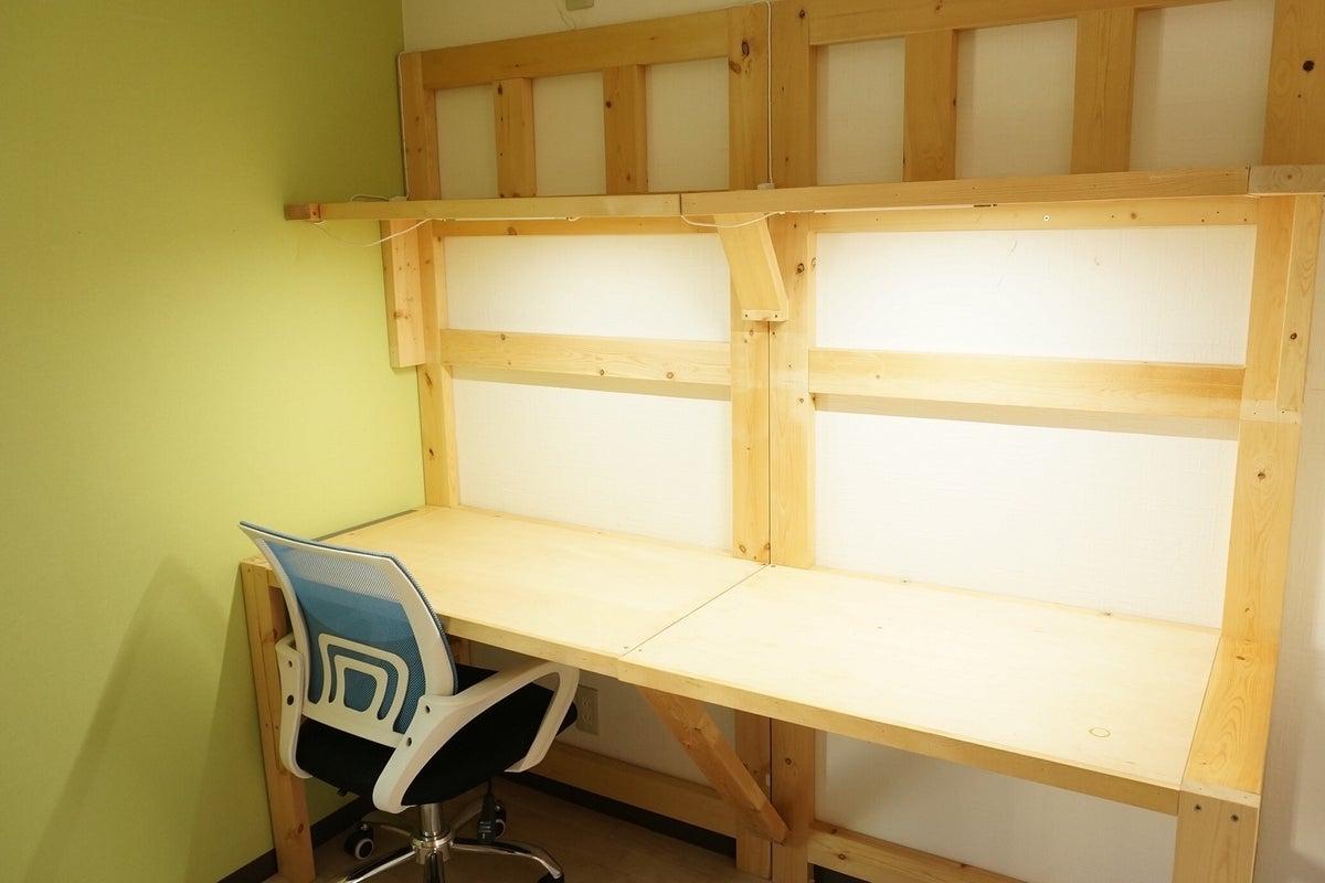 新宿早稲田駅「GH早稲田202号完全個室」。在宅勤務応援。コロナウイルス対策。 の写真