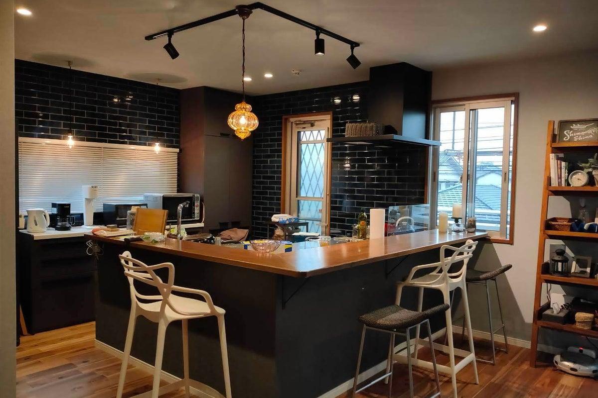 【オープニング価格】女子会・ママ会に♪おしゃれできれいな空間 ゆったりL型キッチン 撮影にもどうぞ の写真