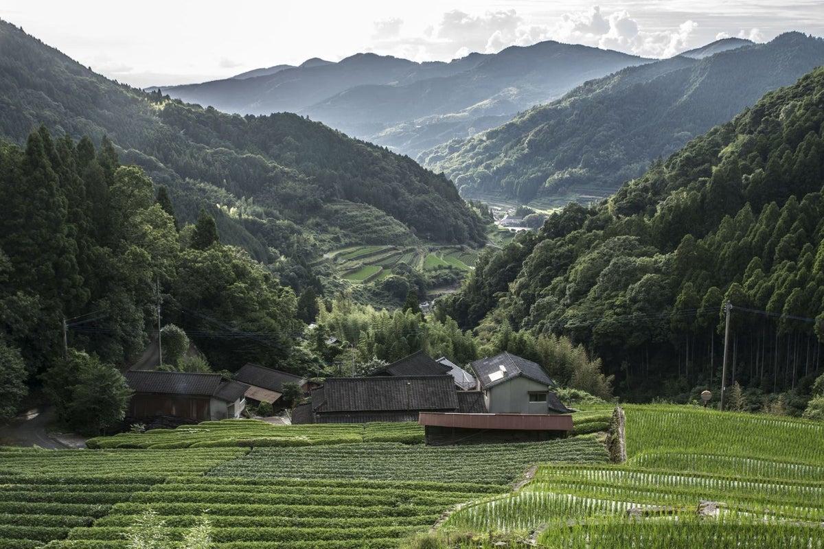 山奥の絶景、大きな古民家ゲストハウス、イベント、写真撮影会などにどうぞ!  の写真