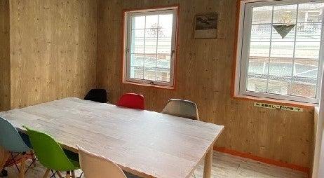 6人用会議室(SFルーム)さわやかな空気が漂うサンフランシスコ風ミーティングルーム。ワークショップにもぴったり。