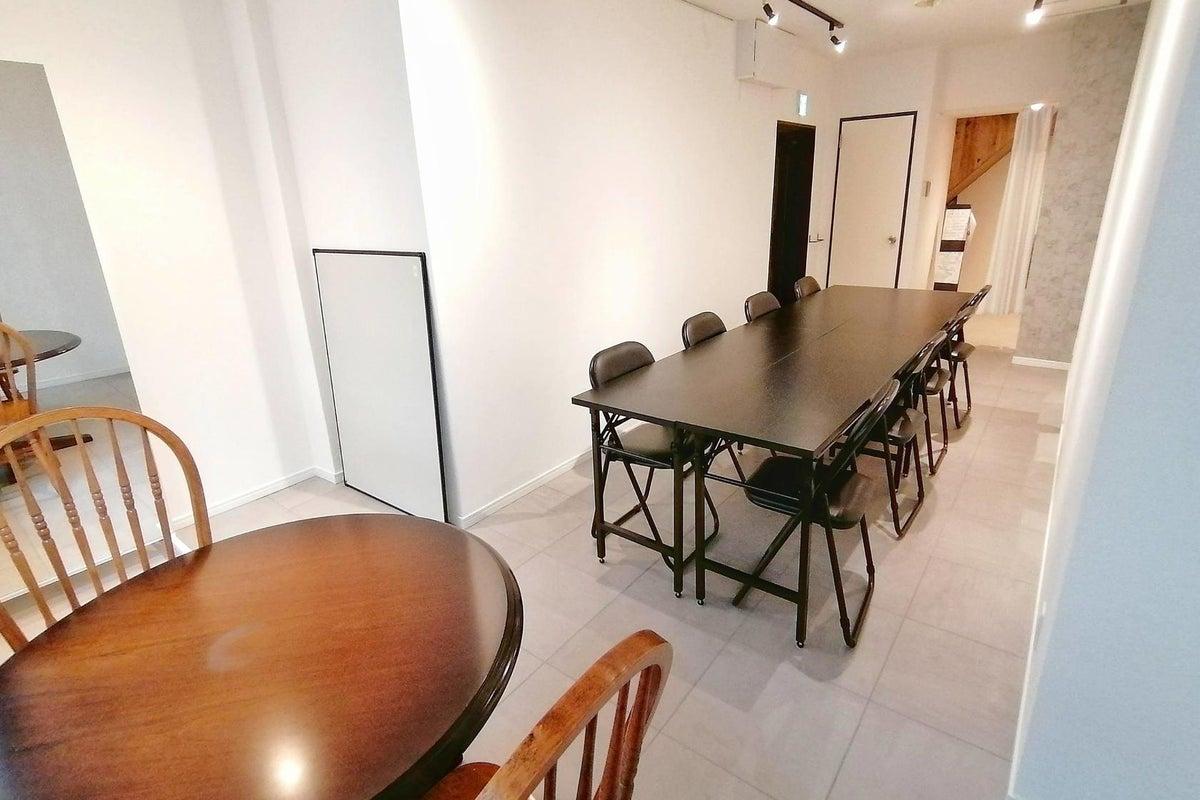 *東銀座駅2分/高速wifi*清潔な個室空間でワークショップやレッスン・会議 の写真