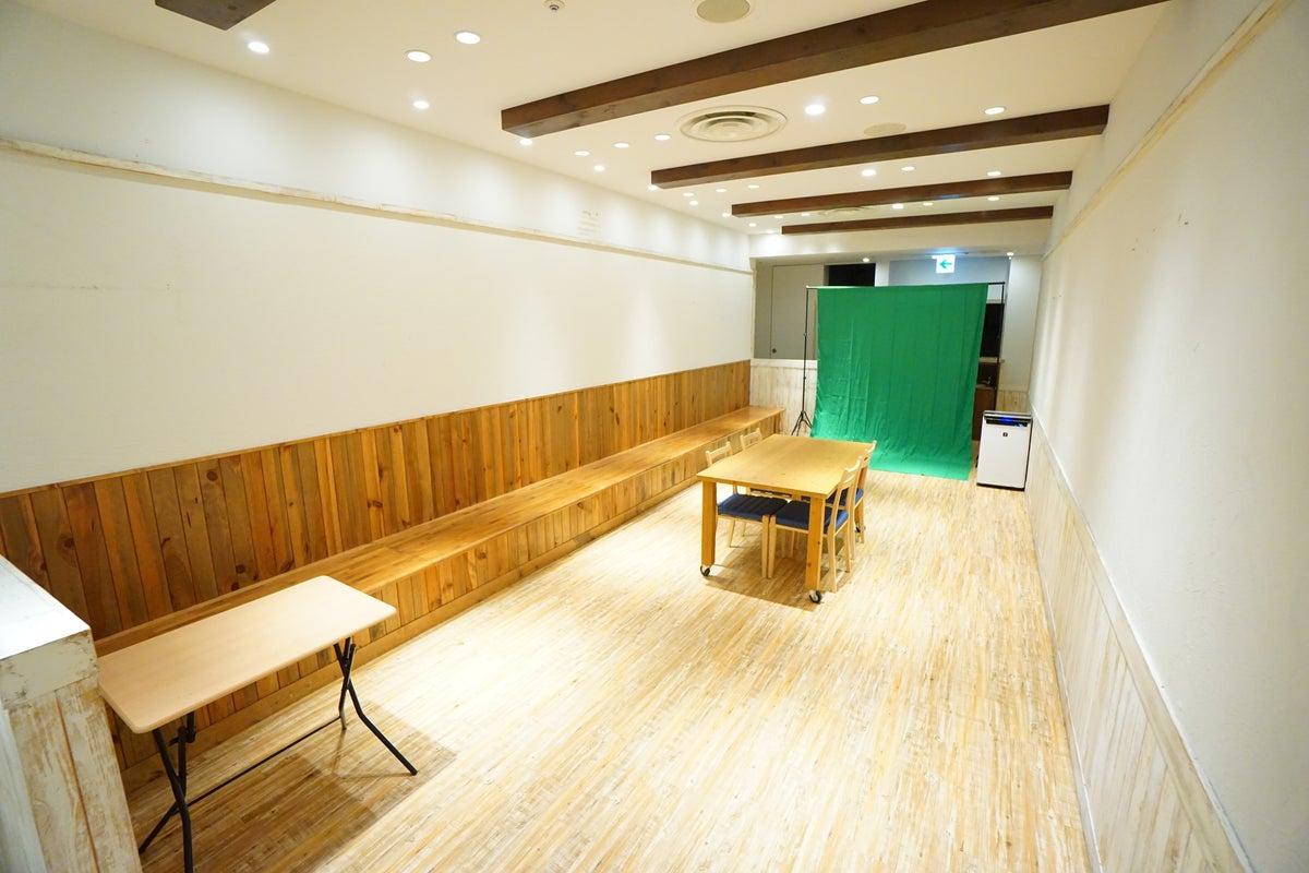 <みんなのレンタルスペース>マルイシティ横浜内の撮影向けスペース📸グリーンバック/リングライトあり!撮影/動画配信 の写真