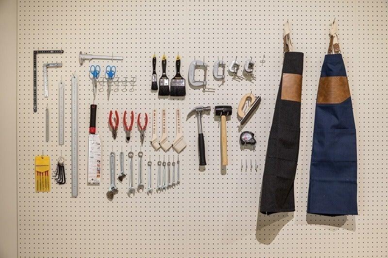 【新潟駅直結】ATELIER/工具を備えたものづくりスペース の写真