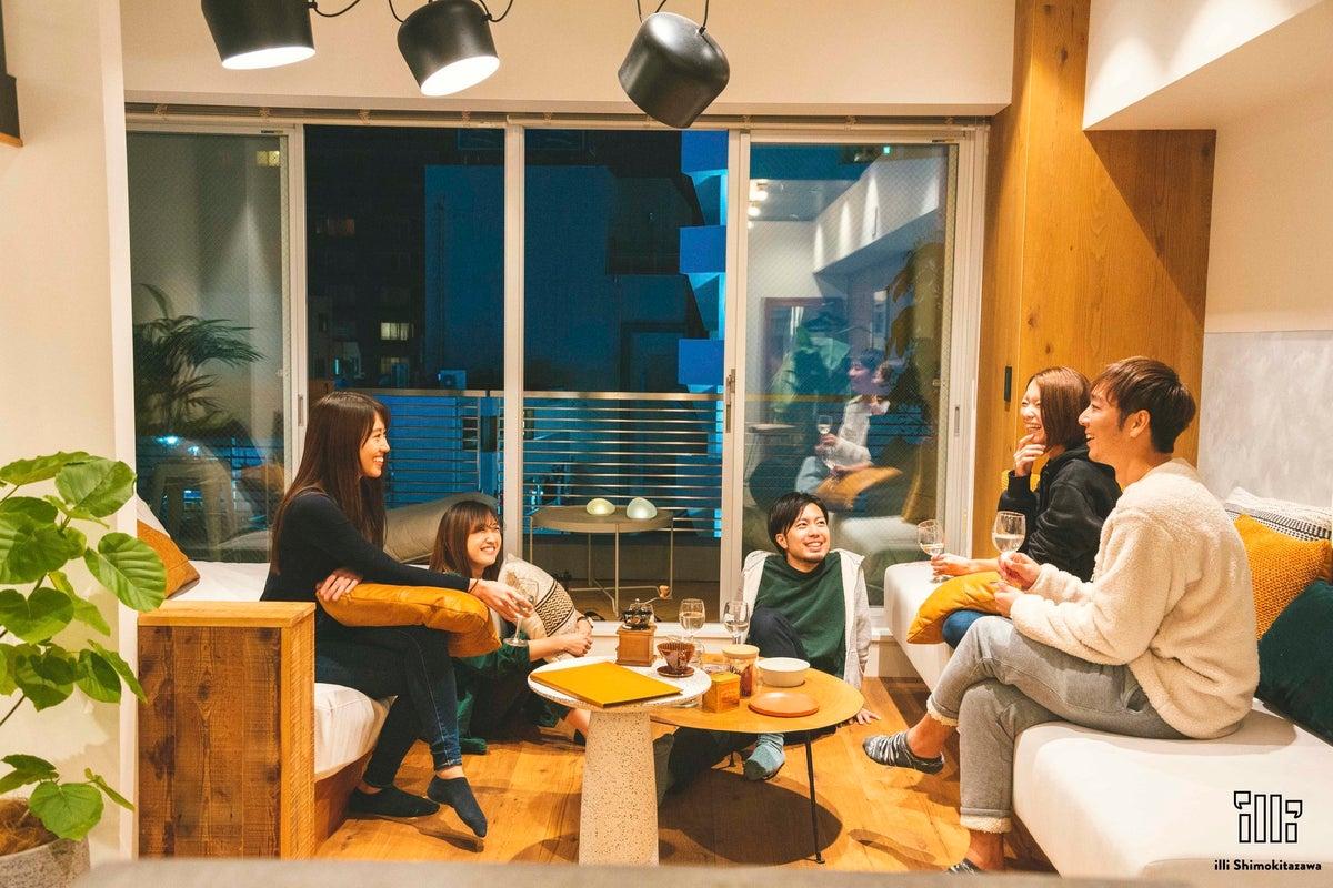 【撮影・パーティーなどに】めざましテレビ取材などで今話題のオシャレな無人ホテル(301) の写真