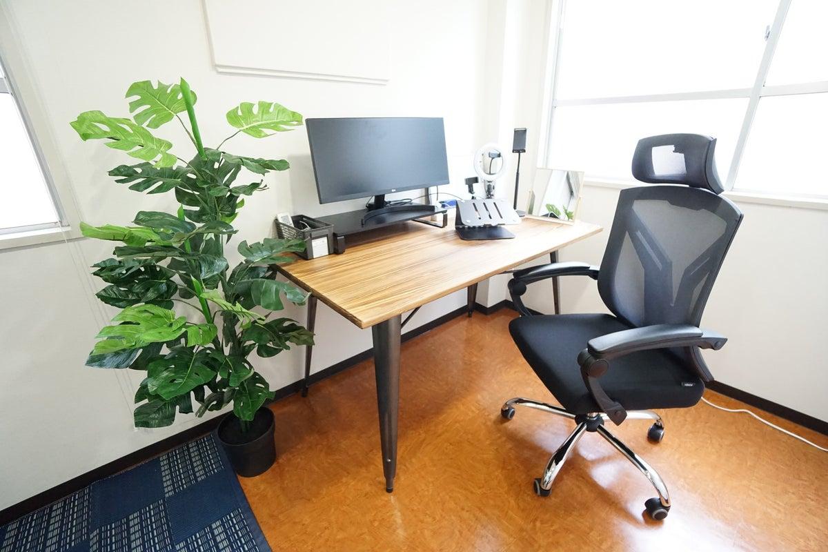 <水道橋ミニマルオフィス>オシャレな完全個室✨モニター/Wi-Fiあり!テレワーク/Web会議,面接 の写真