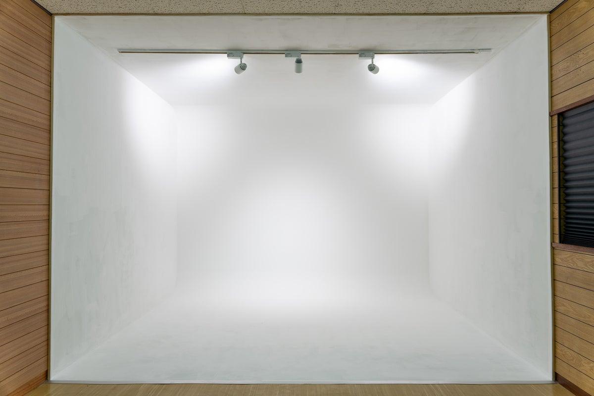 気軽に使える白ホリゾントスタジオ! の写真