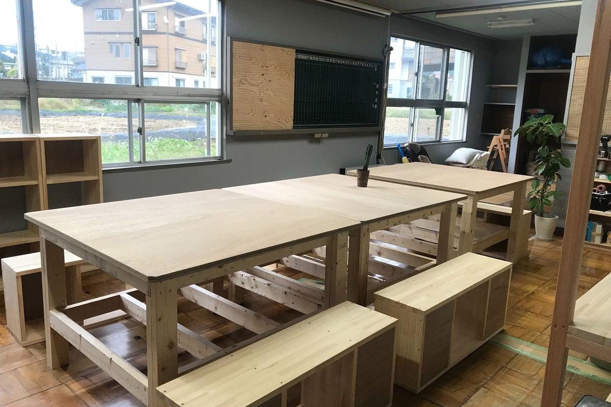 DIY作業やワークショップの会場にぴったり!備品もレンタルできるシェア工房 の写真