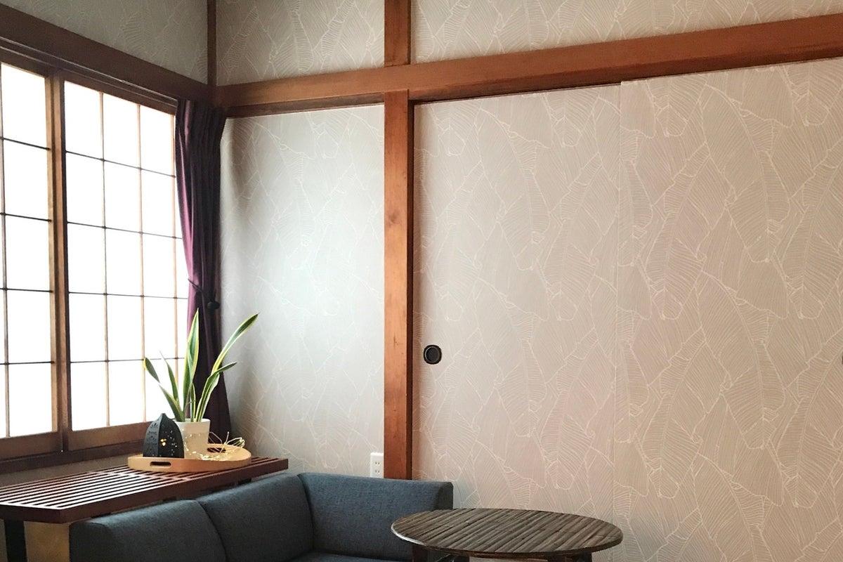 【松戸】輸入壁紙だらけの贅沢空間#駅近#テレワーク#撮影 の写真