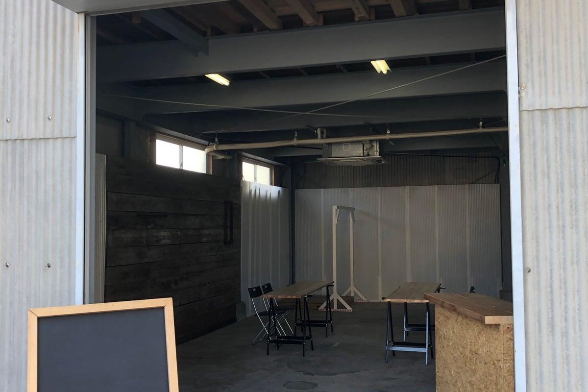 倉庫🏭 ガレージリノベーションスペース の写真