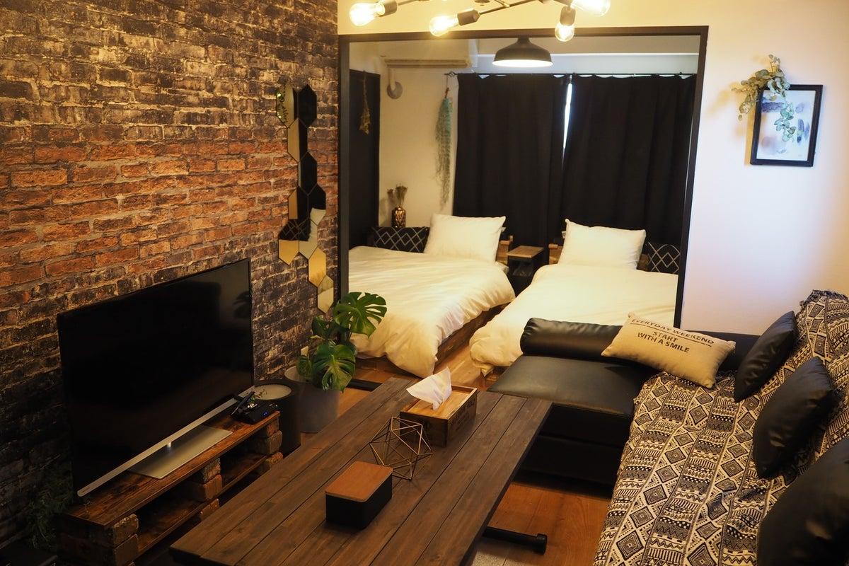 スタイル ブルックリン ブルックリンスタイルに合うカーテンはこれだ!素材感と柄がインテリアの決め手に