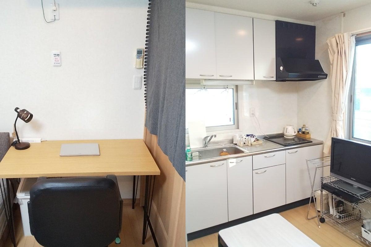【オープニング価格】テレワーク・個人オフィス・コンビニ30秒・お部屋きれい・専用キッチン の写真