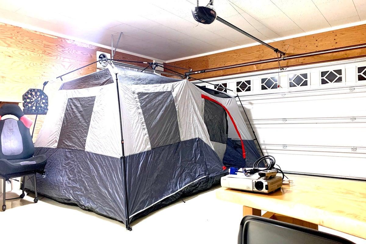 100円~駐車場エアコン有 大型キャンプテント有 サプライズな所でXmas会。ゲームや音楽演奏会   の写真