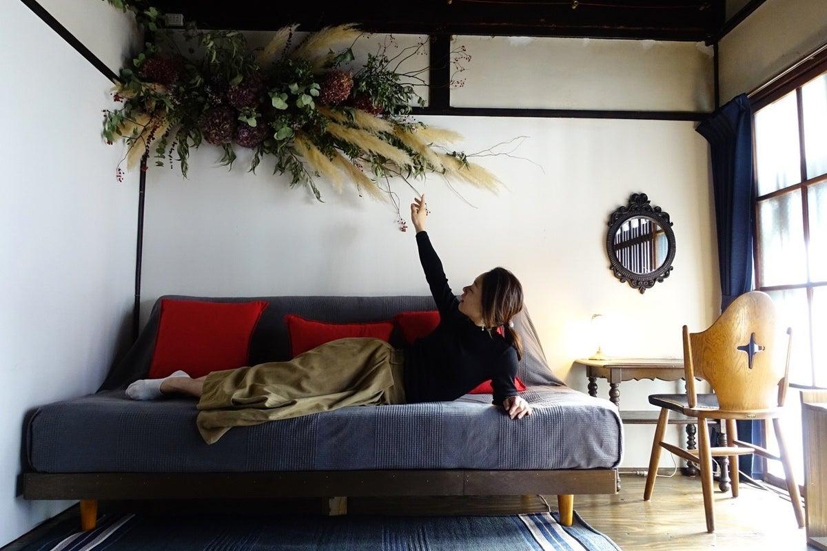 築90年の京町家のレトロで可愛いお部屋で撮影(ポートレート・卒業写真)やリモートワークに最適!! の写真
