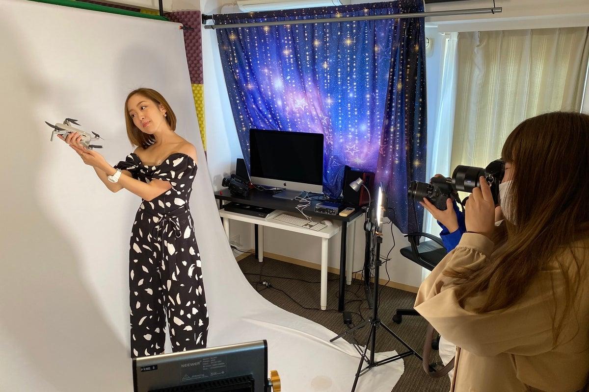 【青山•表参道】撮影スタジオ!グリーンバック•ライト完備!4Kカメラ機材等機材レンタル可 の写真