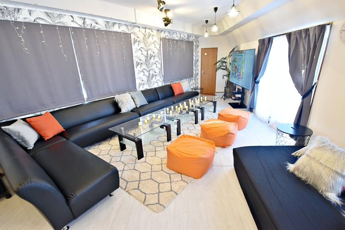 282【シェアスぺRelax Lounge国分寺】⚽大画面で五輪観戦🎾🎊75型TV🌟最新ゲーム🎮FireTVStick📺 の写真