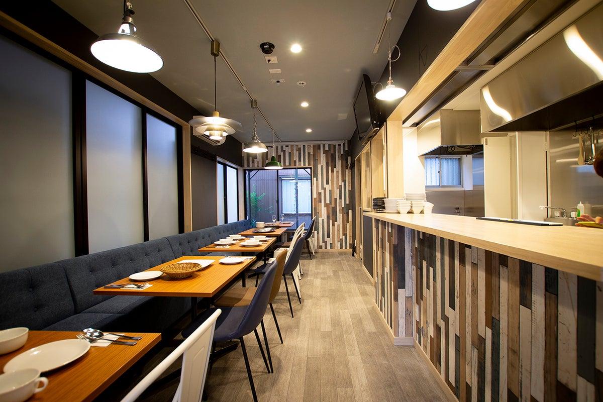 オシャレカフェまるごと貸切!カフェ開業もできます!レンタルキッチンとして料理教室やパーティにも◎ の写真