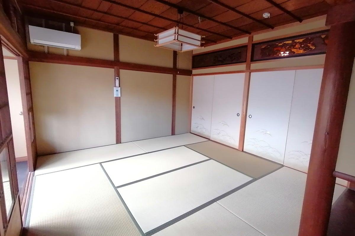 JR奈良駅近くの古民家。キッチン付きで簡単な料理もできます。食事会や和室を使った撮影に! の写真