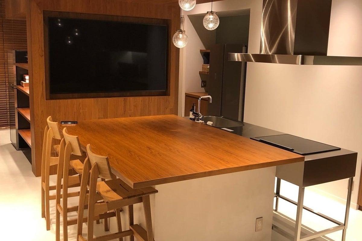 調理器具&調味料完備!シャワーブース、75インチテレビ付きキッチンスタジオ【メディア撮影多数】 の写真