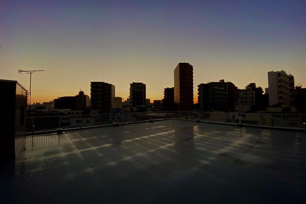 町屋テラス「180㎡屋上」youtube撮影・テレビ撮影・写真撮影 の写真