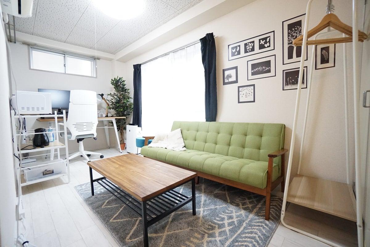 ⭐️光回線導入!⭐️<京都七条ミニマルオフィス>完全個室✨モニター/Wi-Fiあり!テレワーク/Web会議,面接/撮影 の写真