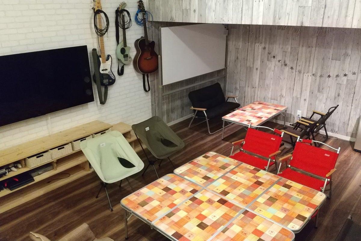 あの秘密のパーティールーム!キッチン付き。ゲーム機、カラオケ、お忍び飲み会、ワンランク上のパーティーを!貴方の隠れ家に! の写真
