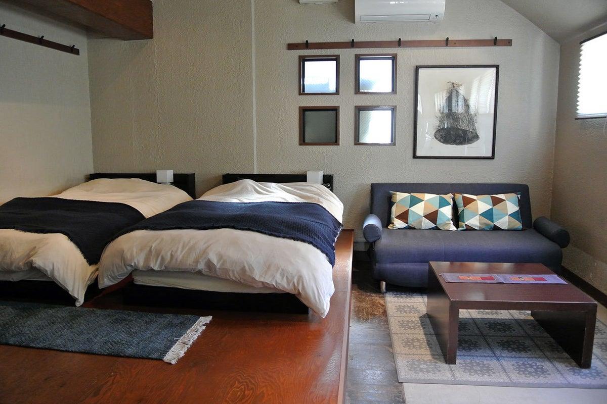 コンクリート×土間。暮らすようなワンルームの宿🌸🚪【gomon no yado-五門の宿-】 の写真