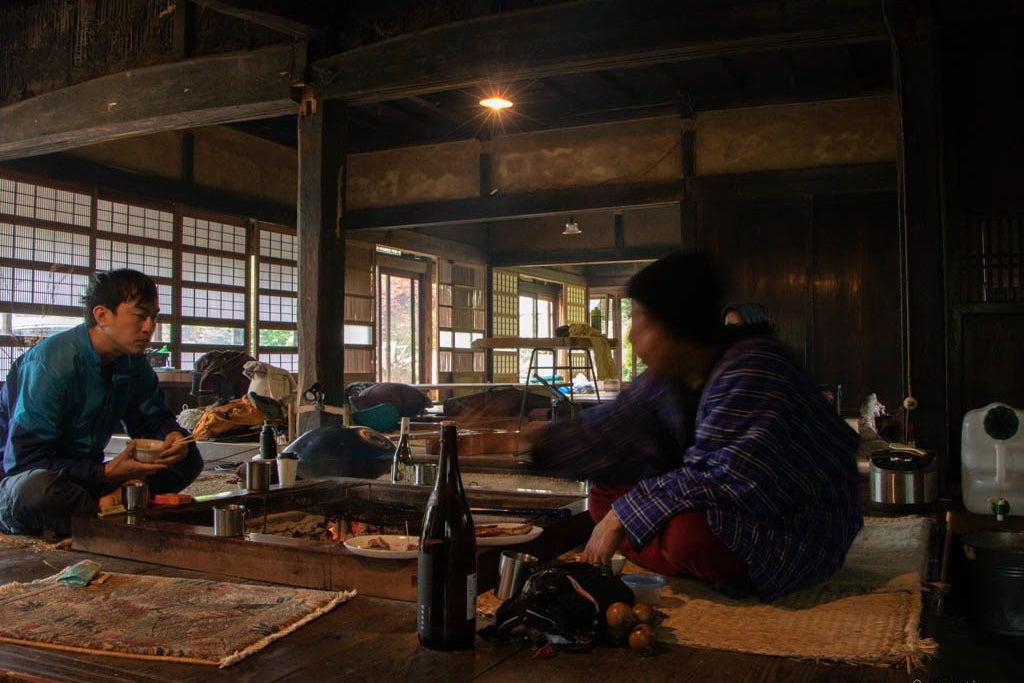 那珂川近く カヌー キャンプ 囲炉裏や焚き火 プライベートBBQ ワークショップなど の写真