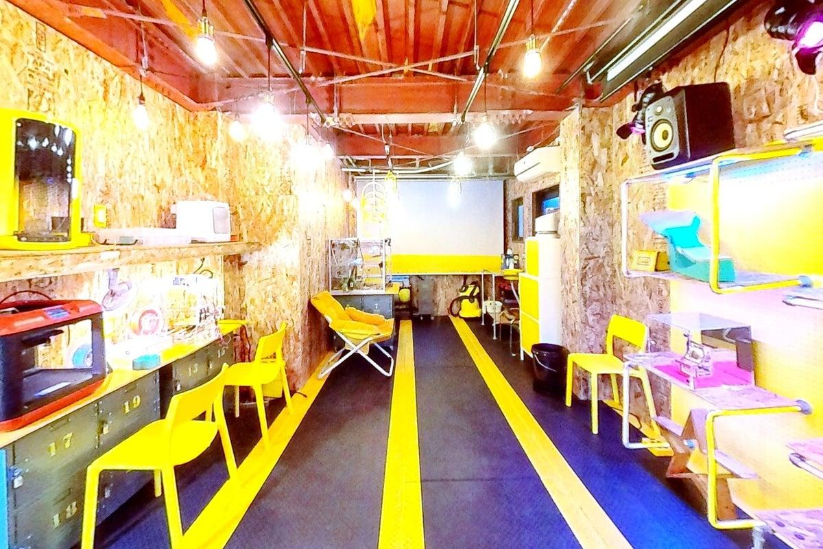 【DIYスペース】JR吹田駅徒歩3分!3Dプリンター4台!小さなモノづくりの拠点に! の写真