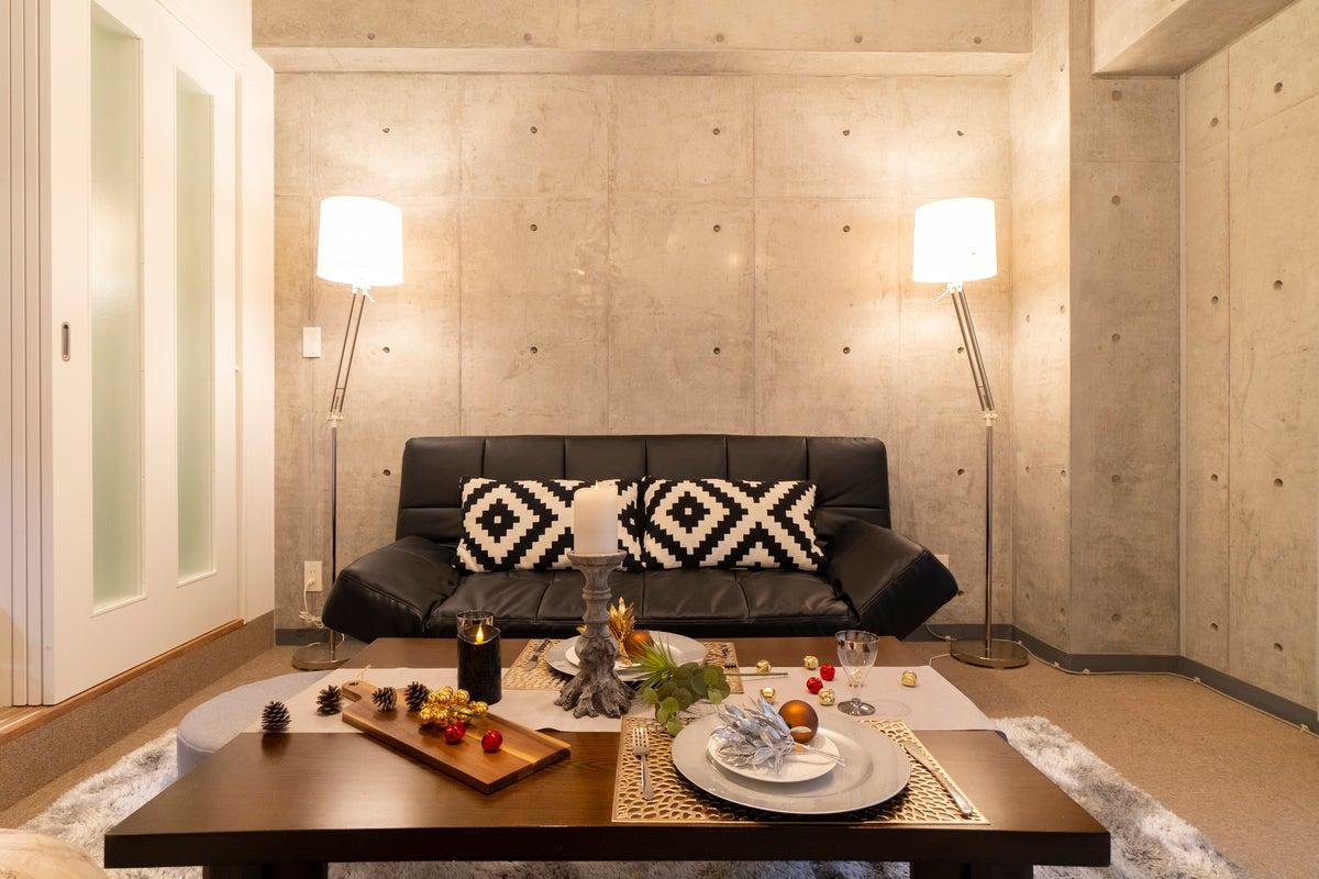 【P-Lounge 渋谷桜丘】コンクリート打ちっぱなしのお部屋!撮影/パーティ/ゲーム利用などに!高速Wifi 230Mbps の写真