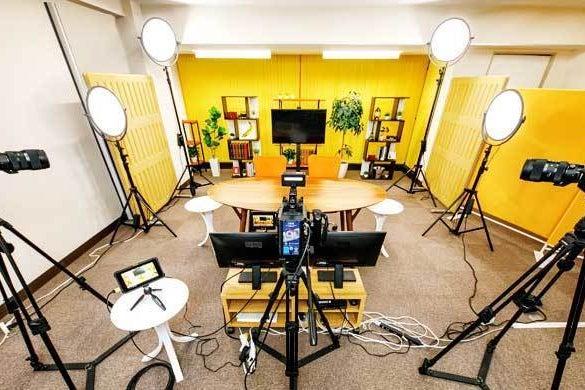 都心にある格安ネット配信スタジオ「TMCミカンスタジオ」 の写真
