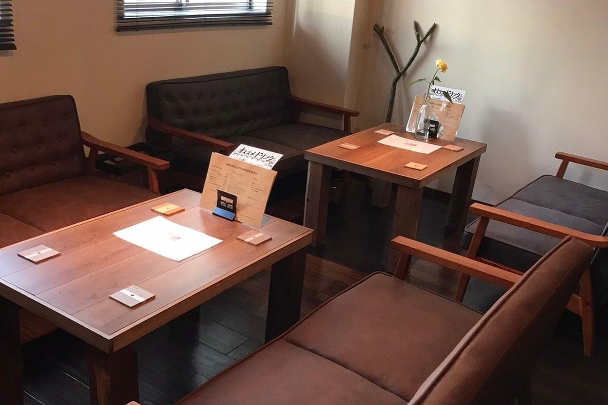 【カフェ】配信/家族行事/女子会/撮影/会議などに!プロジェクター、音響機器完備♪ の写真