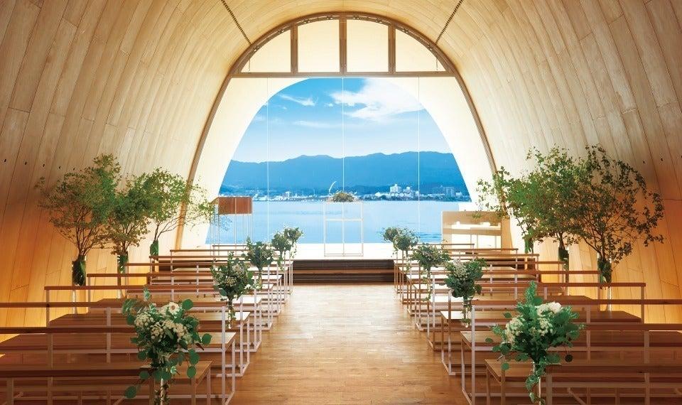 琵琶湖を一望 チャペル貸切 音楽会・撮影・展示会・ヨガ など(セトレマリーナびわ湖) の写真0