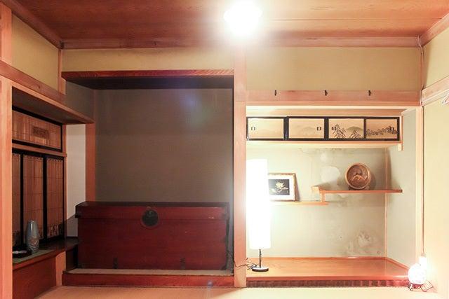 長野県/レトロポップな昭和の古民家/和室2 の写真